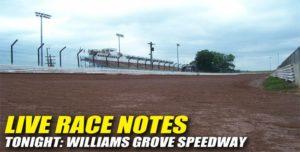 072112 SP LIVE RACE NOTES