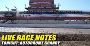 072712 SP LIVE RACE NOTES