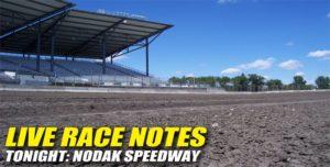 081912 SP LIVE RACE NOTES