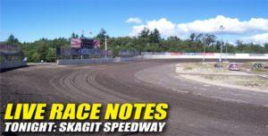 083112 SP LIVE RACE NOTES