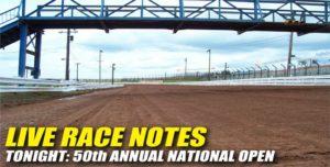 092812 SP LIVE RACE NOTES