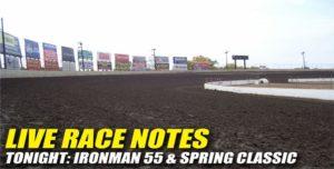 101312 SP LIVE RACE NOTES