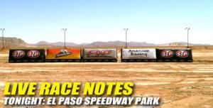 041613 SP LIVE RACE NOTES