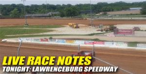 LAWRENCEBURG LIVE NOTES