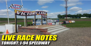 030113 SP LIVE RACE NOTES