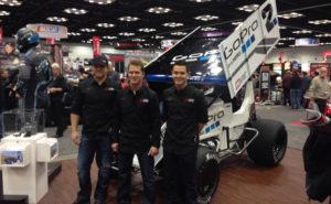 Larson Marks Racing No. 2 GoPro Car