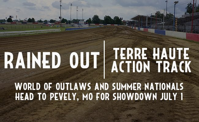 Rained out Terre Haute Action Track
