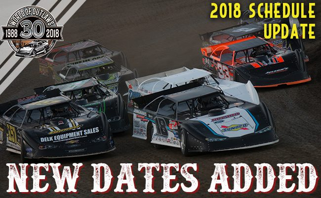 Updated 2018 Schedule Announced – World of Outlaws