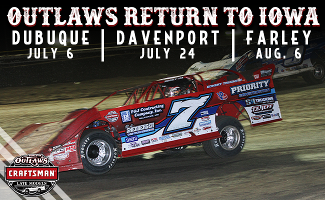 World of Outlaws Return to Iowa – World of Outlaws