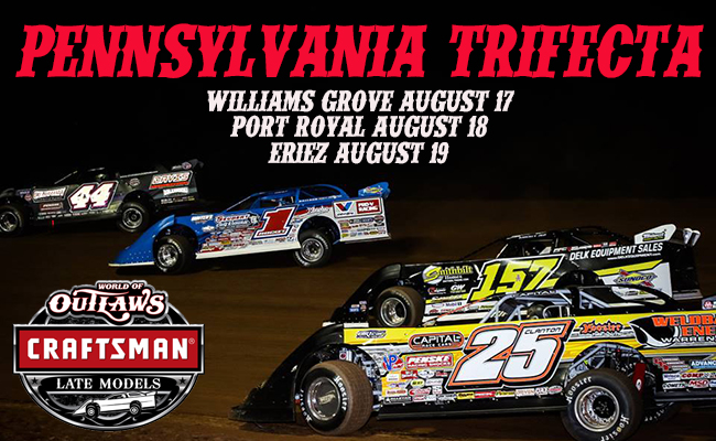 Pennsylvania Run Features 3 Races in 3 Days – World of Outlaws