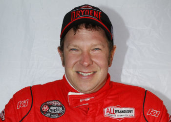Drydene Performance Products sponsors World of Outlaws Late Model Series driver Brent Larson