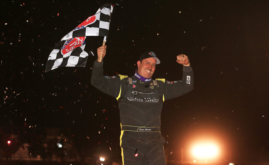 Shane Clanton Celebrating at Screven