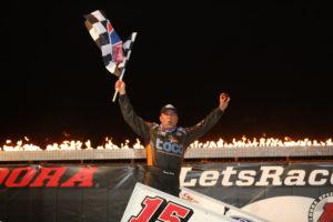 Donny Schatz wins night 1 of #LetsRaceTwo at Eldora Speedway