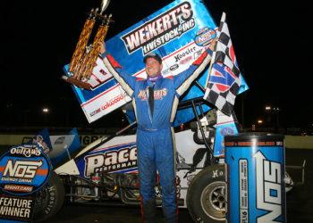 Danny Dietrich wins at Bridgeport Speedway May 21, 2019