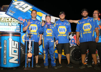 Brad Sweet win Jackson Nationals Night 1
