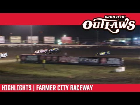 World of Outlaws Morton Buildings Late Models Farmer City Raceway April 5, 2019 | HIGHLIGHTS