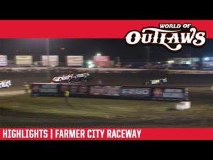World of Outlaws Morton Buildings Late Models Farmer City Raceway April 5, 2019   HIGHLIGHTS