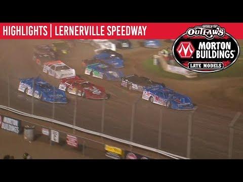 World of Outlaws Morton Buildings Late Models Lernerville Speedway June 22, 2019 | HIGHLIGHTS