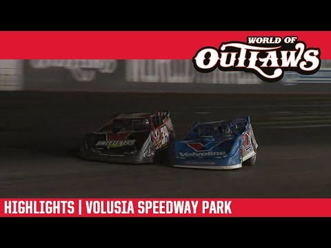 World of Outlaws Morton Buildings Late Models Volusia Speedway Park February 14, 2019 | HIGHLIGHTS