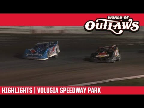 World of Outlaws Morton Buildings Late Models Volusia Speedway Park February 15, 2019 | HIGHLIGHTS