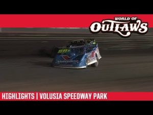 World of Outlaws Morton Buildings Late Models Volusia Speedway Park February 16, 2019   HIGHLIGHTS