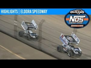 World of Outlaws NOS Energy Drink Sprint Cars Eldora Speedway May 10, 2019 | HIGHLIGHTS