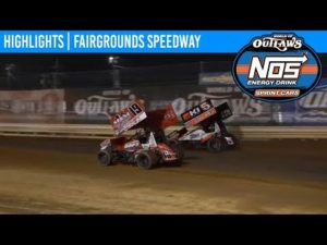 World of Outlaws NOS Energy Drink Sprint Cars Fairgrounds Speedway, June 1, 2019 | HIGHLIGHTS
