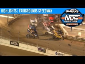 World of Outlaws NOS Energy Drink Sprint Cars Fairgrounds Speedway, May 31, 2019 | HIGHLIGHTS