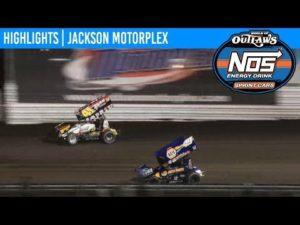 World of Outlaws NOS Energy Drink Sprint Cars Jackson Motorplex, June 27, 2019 | HIGHLIGHTS