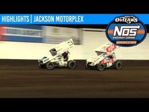 World of Outlaws NOS Energy Drink Sprint Cars Jackson Motorplex, June 28, 2019 | HIGHLIGHTS