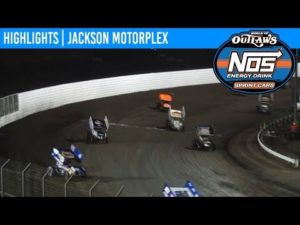 World of Outlaws NOS Energy Drink Sprint Cars Jackson Motorplex, June 29, 2019 | HIGHLIGHTS