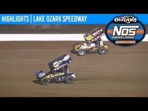 World of Outlaws NOS Energy Drink Sprint Cars Lake Ozark Speedway April 26, 2019   HIGHLIGHTS