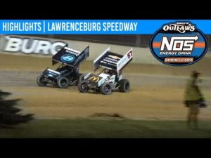World of Outlaws NOS Energy Drink Sprint Cars Lawrenceburg Speedway, May 27, 2019   HIGHLIGHTS