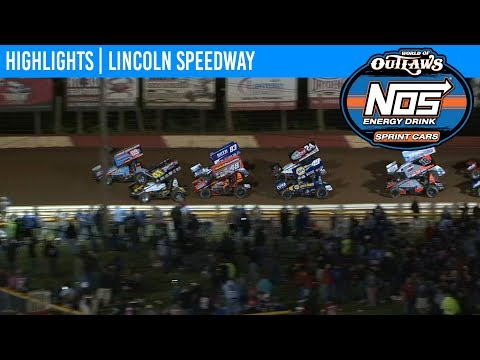 World of Outlaws NOS Energy Drink Sprint Cars Lincoln Speedway May 15, 2019 | HIGHLIGHTS