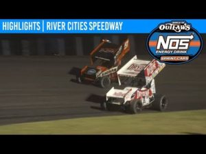 World of Outlaws NOS Energy Drink Sprint Cars River Cities Speedway, June 7, 2019 | HIGHLIGHTS