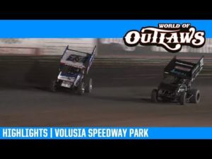 World of Outlaws NOS Energy Drink Sprint Cars Volusia Speedway Park February 9, 2019 | HIGHLIGHTS