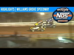 World of Outlaws NOS Energy Drink Sprint Cars Williams Grove Speedway May 17, 2019   HIGHLIGHTS