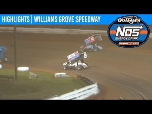World of Outlaws NOS Energy Drink Sprint Cars Williams Grove Speedway May 18, 2019 | HIGHLIGHTS
