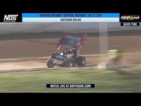 DIRTVISION REPLAYS   Hartford Speedway July 12th, 2019