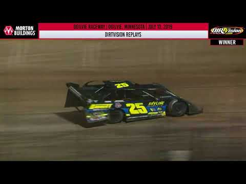 DIRTVISION REPLAYS | Ogilvie Raceway July 13th, 2019