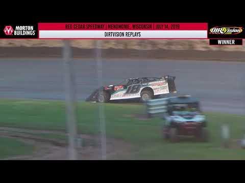 DIRTVISION REPLAYS | Red Cedar Speedway July 13th, 2019