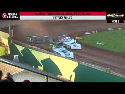 DIRTVISION REPLAYS | Shawano Speedway July 30th, 2019
