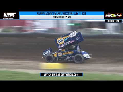 DIRTVISION REPLAYS | Wilmot Raceway July 13th, 2019
