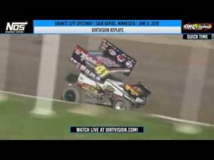 DIRTVISION REPLAYS | World of Outlaws NOS Energy Drink Sprint Cars Granite City June 8, 2019