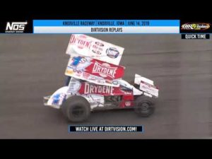DIRTVISION REPLAYS   World of Outlaws NOS Energy Drink Sprint Cars Knoxville Raceway June 14, 2019