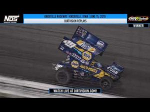 DIRTVISION REPLAYS | World of Outlaws NOS Energy Drink Sprint Cars Knoxville Raceway June 15, 2019