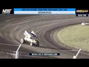 DIRTVISION REPLAYS | World of Outlaws NOS Energy Drink Sprint Cars River Cities June 7, 2019