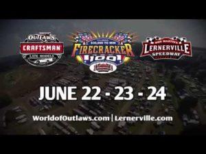 Firecracker 100   June 22-24   Lernerville Speedway