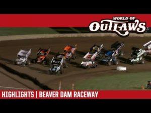 World of Outlaws Craftsman Sprint Cars Beaver Dam Raceway June 23, 2018 | HIGHLIGHTS