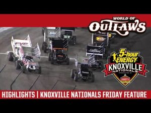 World of Outlaws Craftsman Sprint Cars Knoxville Nationals August 12th, 2016   HIGHLIGHTS